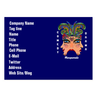 Mardi Gras Carnival Event  Please View Hints Business Card Templates