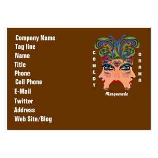 Mardi Gras Carnival Event  Please View Hints Business Card