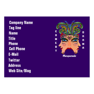 Mardi Gras Carnival Event  Please View Hints Business Cards