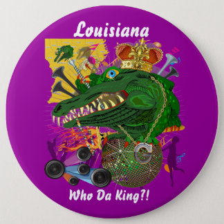 Mardi Gras Carnival Event  Please View Notes 6 Cm Round Badge