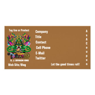 Mardi Gras Carnival Event  Please View Notes Photo Card Template