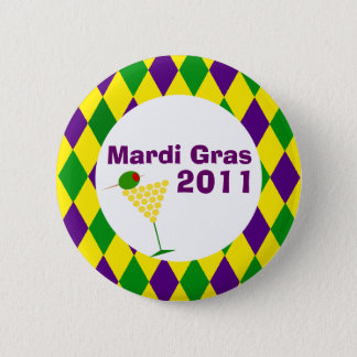 Mardi Gras Celebration Button