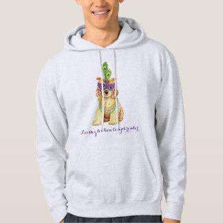Mardi Gras Cocker Spaniel Hoodie