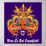 Mardi Gras Crawfish Who Da King please view notes