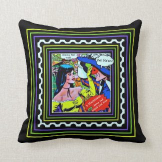 Mardi Gras Cushion