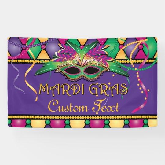Mardi Gras, Custom Party Banner