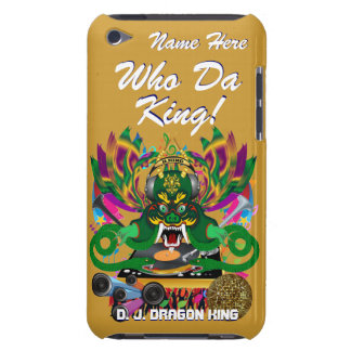 Mardi Gras D. J. Dragon King View Hints please Barely There iPod Cases