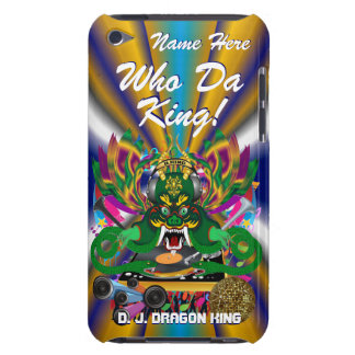 Mardi Gras D. J. Dragon King View Hints please Barely There iPod Covers