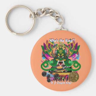 Mardi Gras D. J. Dragon King View Hints please Keychains