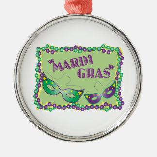 Mardi Gras Christmas Ornaments