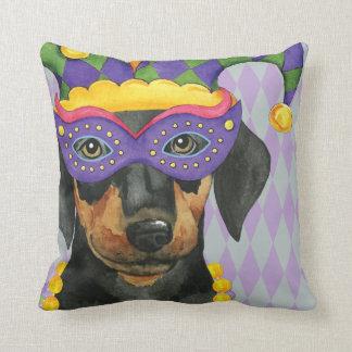 Mardi Gras Dobe Cushion