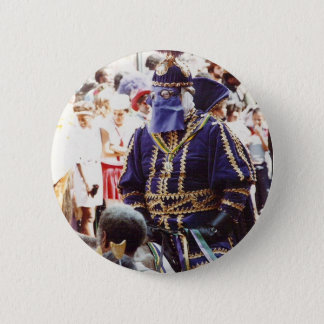 Mardi Gras Duke 6 Cm Round Badge