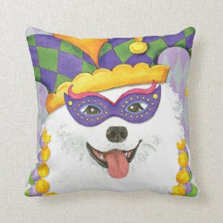 Mardi Gras Eskie Cushion