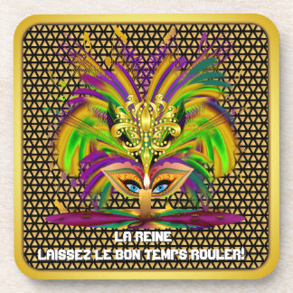 Mardi Gras  Event  Please View Notes Drink Coaster
