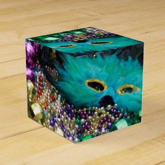 Mardi Gras Festive Party Favour Custom Gift Box Wedding Favour Box