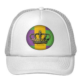 Mardi Gras Flag Crown Hats