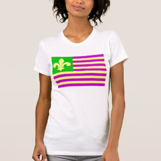 Mardi Gras Flag T-shirts