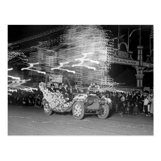 Mardi Gras Flashes, 1910 Postcard