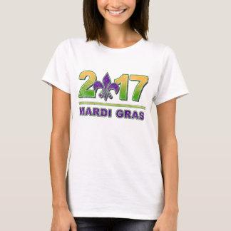Mardi Gras Fleur-de-Lis 2017 T-Shirt