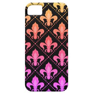 Mardi Gras Fleur De Lis iPhone 5 Case