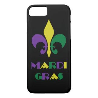 Mardi Gras ~ Fleur De Lis iPhone 7 Case