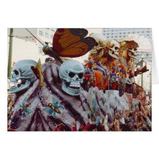 Mardi Gras Float Card