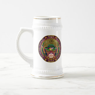 Mardi Gras Football think it's to early view notes Beer Steins