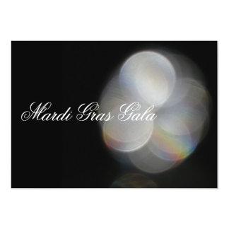Mardi Gras Gala 5x7 Paper Invitation Card