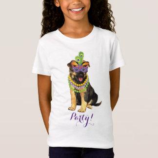 Mardi Gras German Shepherd T-Shirt