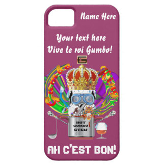 Mardi Gras Gumbo King View Hints please iPhone 5 Cases