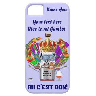 Mardi Gras Gumbo King View Hints please iPhone 5 Case