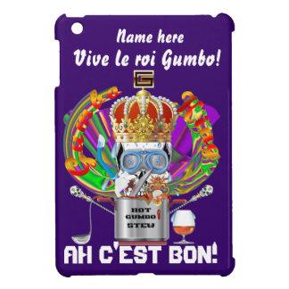 Mardi Gras Gumbo King View Hints please Case For The iPad Mini