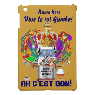 Mardi Gras Gumbo King View Hints please iPad Mini Case