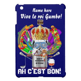 Mardi Gras Gumbo King View Hints please iPad Mini Cases