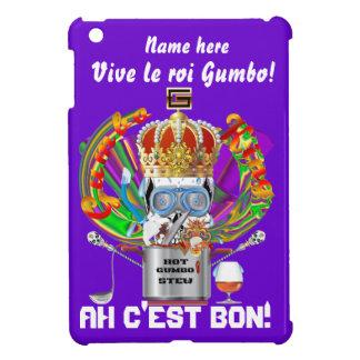 Mardi Gras Gumbo King View Hints please iPad Mini Cover