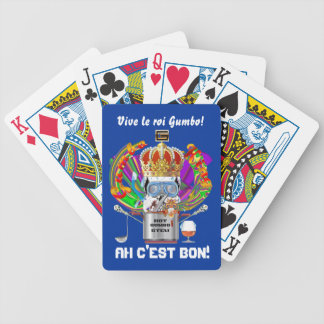 Mardi Gras Gumbo King View Hints please Deck Of Cards