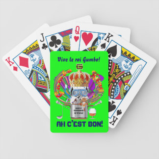 Mardi Gras Gumbo King View Hints please Poker Deck