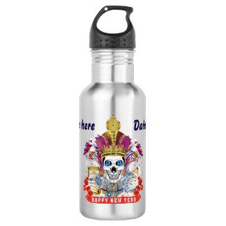 Mardi Gras Happy New Year! view notes below 532 Ml Water Bottle