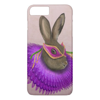 Mardi Gras Hare 4 iPhone 8 Plus/7 Plus Case