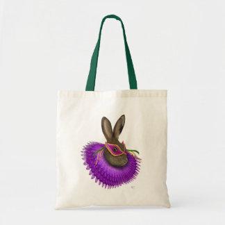 Mardi Gras Hare 4 Tote Bag