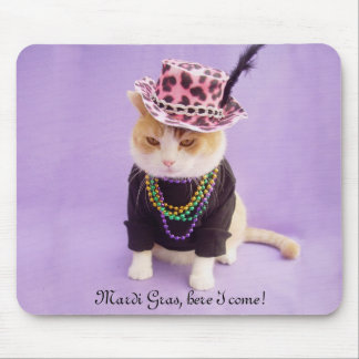 Mardi Gras, here I come! Mouse Mat