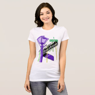 Mardi Gras - I Survived Bourbon Street T-Shirt