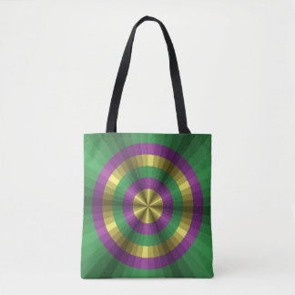 Mardi Gras Illusion All-Over-Print Bag
