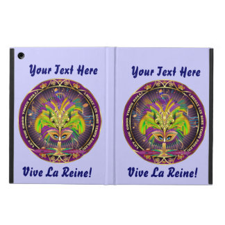 Mardi Gras iPad Air, Mini and 2/3/4 View About Case For iPad Air