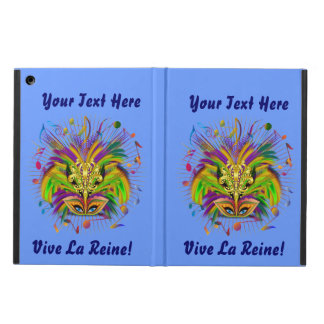 Mardi Gras iPad Air, Mini and 2/3/4 View About Cover For iPad Air