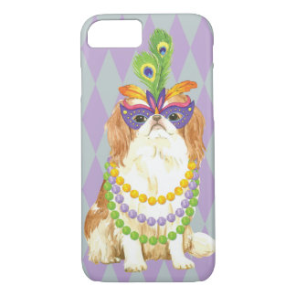 Mardi Gras Japanese Chin iPhone 8/7 Case