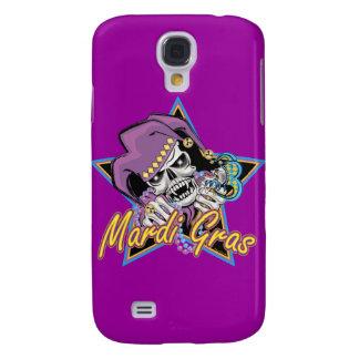 Mardi Gras Jester Skull Galaxy S4 Case