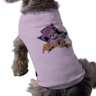 Mardi Gras Jester Skull Shirt