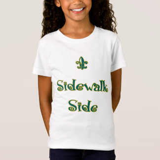 Mardi Gras - Kids Sidewalk Side T-Shirt