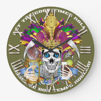 Mardi Gras King of Time  View Hints Please Clocks